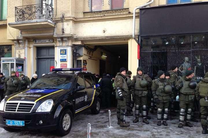 Саакашвили доставили всуд для избрания меры пресечения
