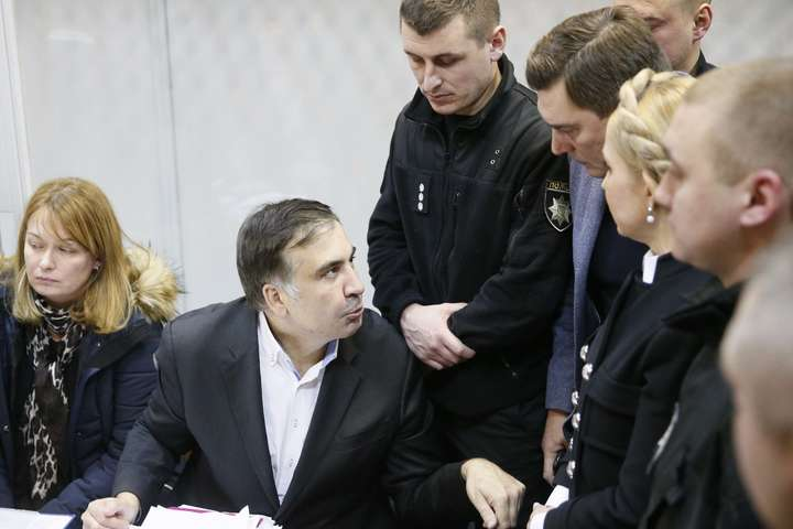 Тимошенко заявила про готовність взяти напоруки Саакашвілі
