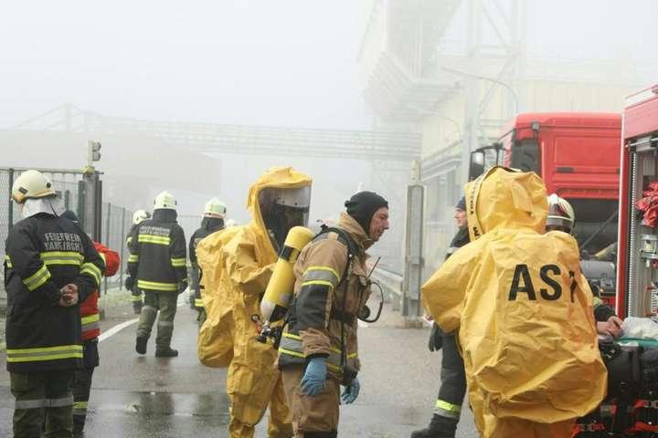 Из-за утечки кислоты назаводе вАвстрии пострадали 40 человек