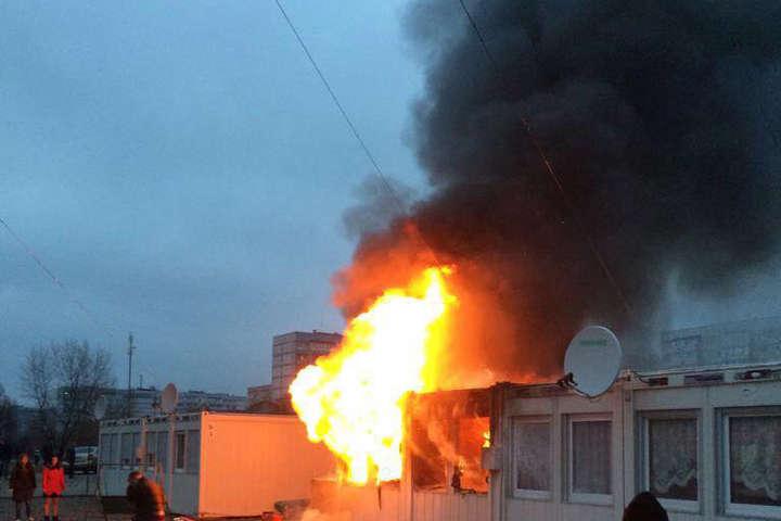Под Днепром произошел пожар вгородке для переселенцев, умер ребенок