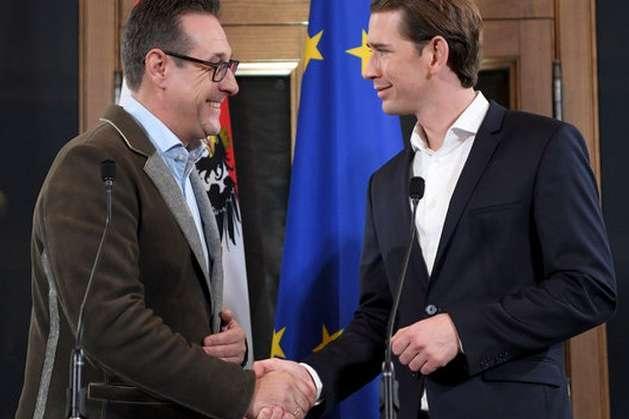 Курц таШтрахе повідомили президенту Австрії про склад майбутнього уряду
