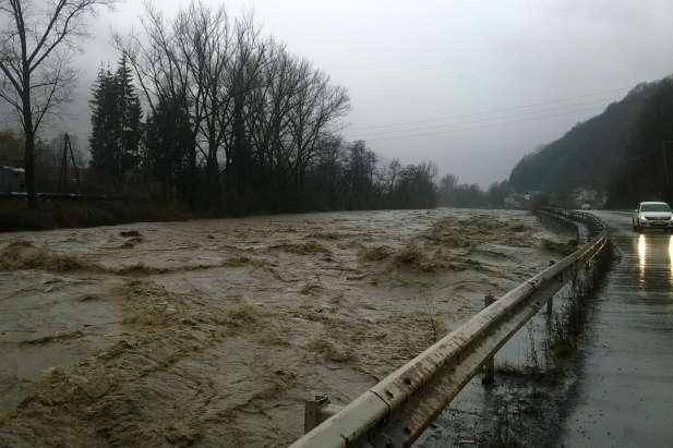 Рівень води назакарпатських річках збільшуватиметься