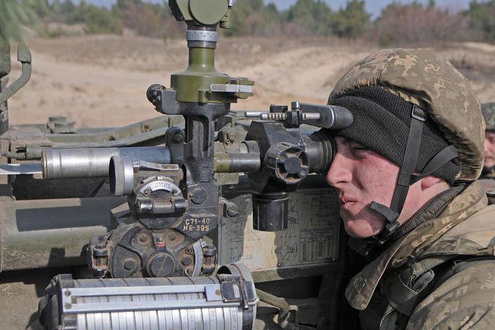 День вАТО: 11 обстрілів, бойовики застосовували міномети і стрілецьку зброю