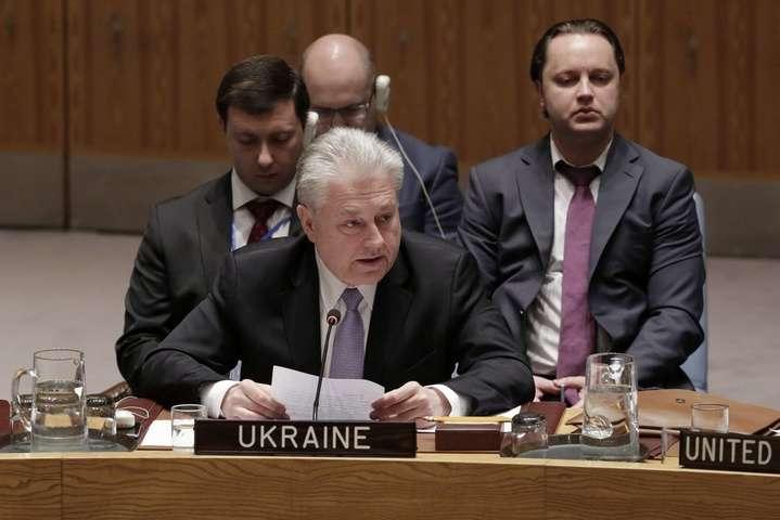 Єльченко про виступ Клімкіна в ООН: «Представника РФ аж ціпати почало»