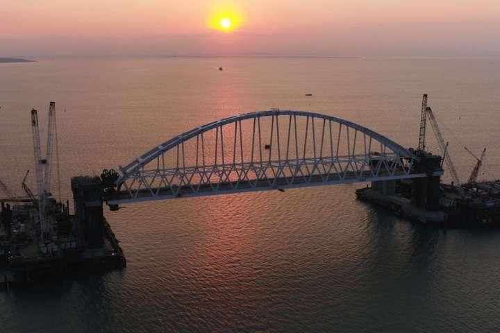 Окупанти підбили підсумки голосування заназву мосту між Кримом і Росією