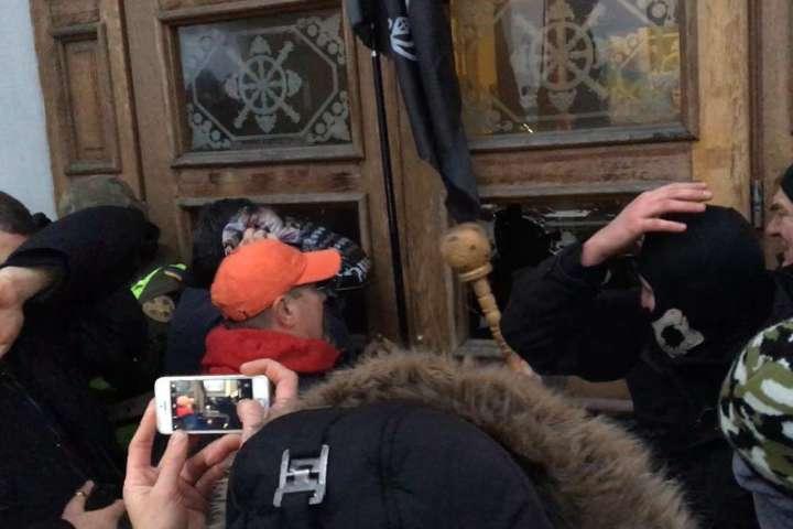 Політичні пацюки!: Соратники Саакашвілі по черзі відмежувались від сутичок під Жовтневим