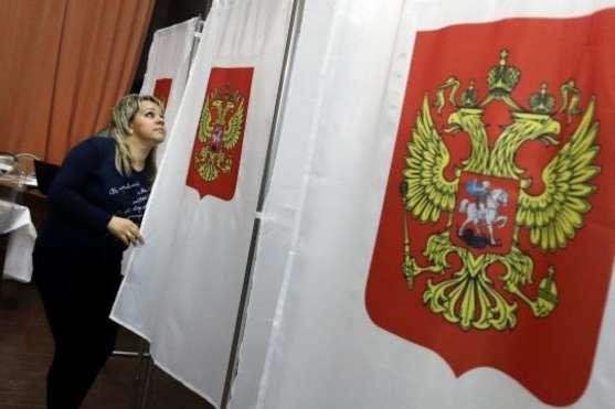 УРосії офіційно стартувала виборча кампанія