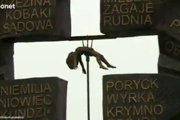 ВПольше сделали антиукраинский монумент с«распятыми мальчиками»