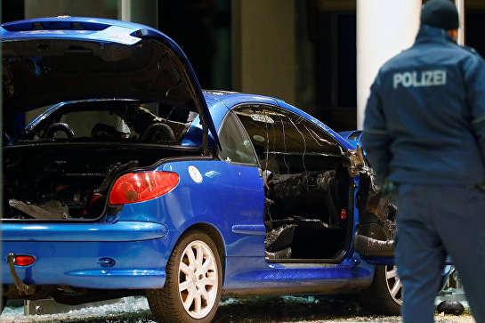 УБерліні водій протаранив штаб-квартиру партії СДПН, намагаючись вчинити суїцид