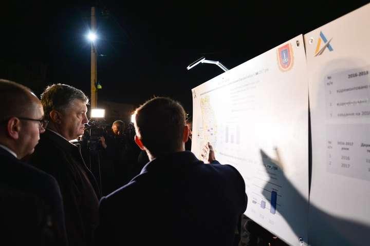 Трасу Одеса— Рені буде добудовано наступного року— Порошенко