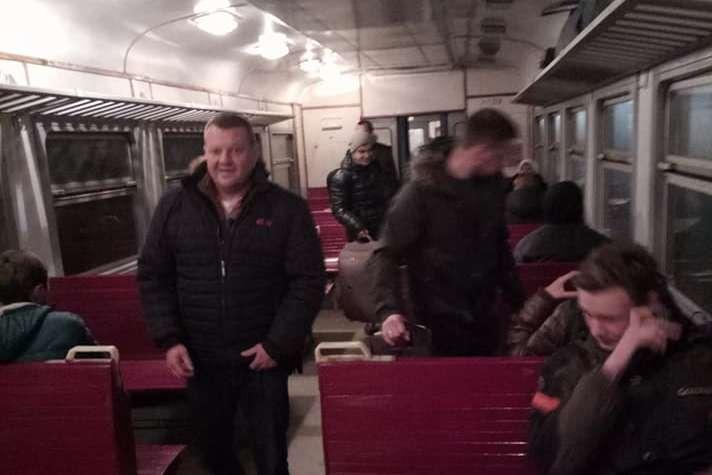 Швидкісний поїзд Запоріжжя— Київ затримується на п'ять годин