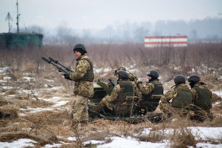 Українські військов
