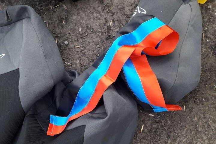 Врайоні проведення АТО виявили машину із символікою ДНР тажетоном «Востока»
