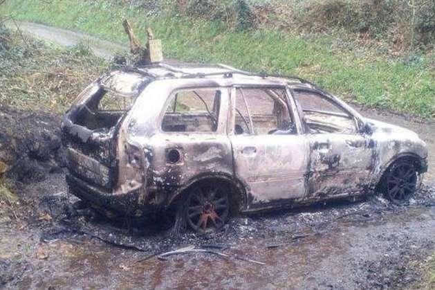 Автомобіль загиблого Міка Алпса