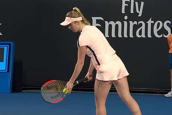 Українка Цуренко вирвала перемогу упредставниці Росії настарті Australian Open