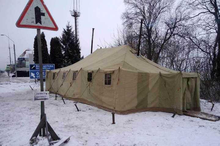 НаКиївщині відкрили пункти обігріву для водіїв