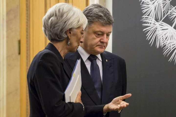 Картинки по запросу Лагард и Порошенко - фото