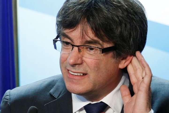 Верховний суд Іспанії відмовився видати європейський ордер наарешт Пучдемона