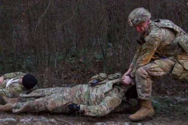 Військові США та Канади відпрацювали на Львівщині сценарій з масовими жертвами