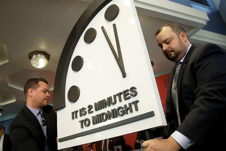 Годинник Судного дня знову перевели на 30 секунд вперед
