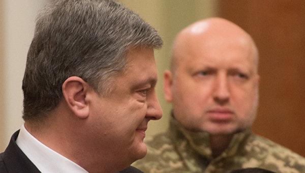 Петро Порошенко та Олександр Турчинов