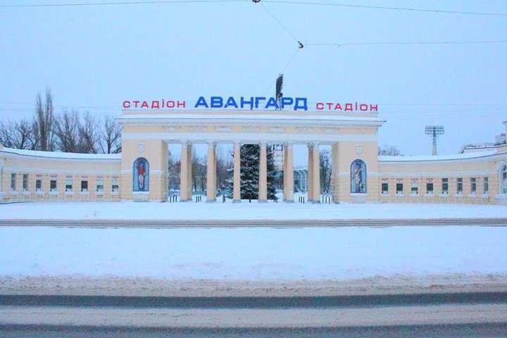 Стадіон «Зорі» в окупованому Луганську