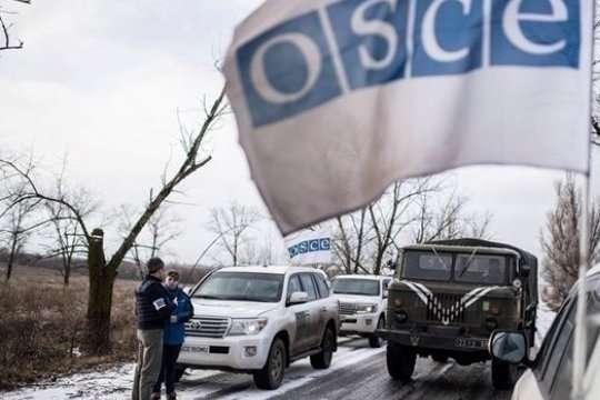 Патруль ОБСЄ потрапив під обстріл натериторії ОРДЛО