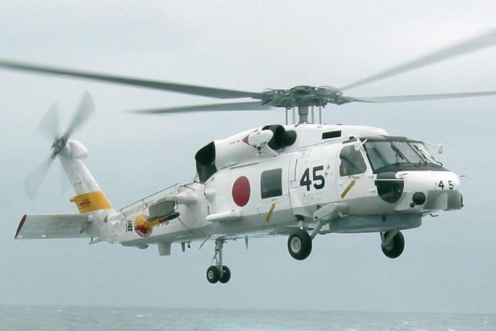 ВЯпонії військовий вертоліт впав нажитловий квартал