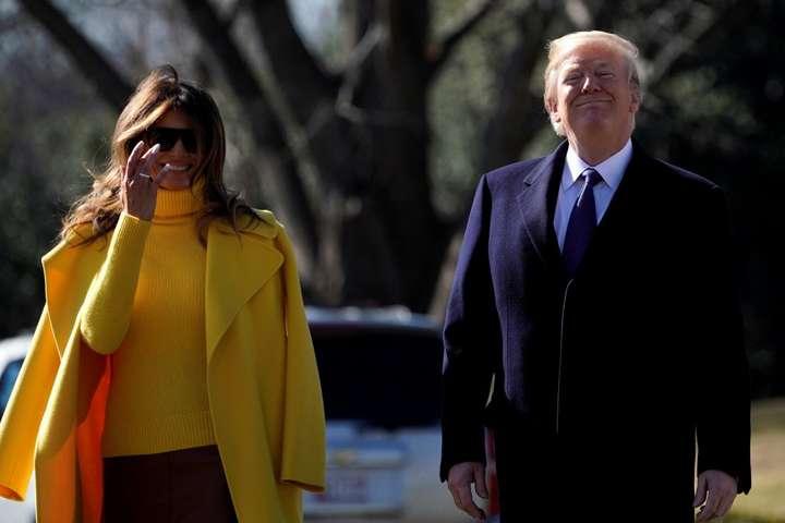 Меланія та Дональд Трамп