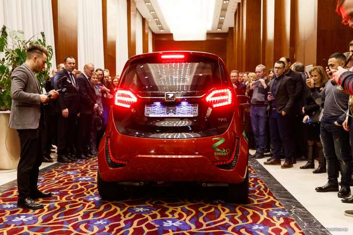 Презентація електромобілів вічизняного виробництва у Білорусі