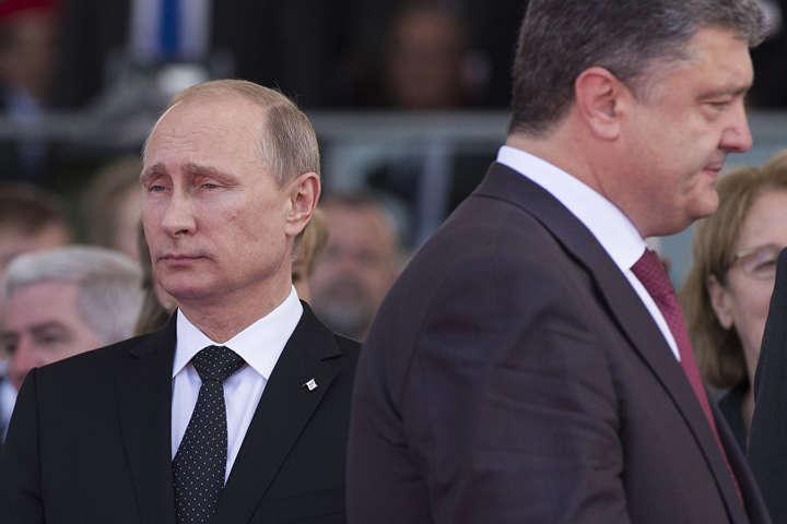 Порошенко висловив співчуття Путіну