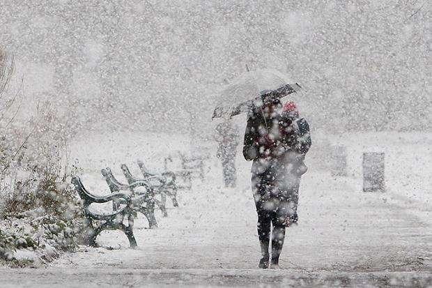 Погода на 15 лютого: Сьогодні в Україні сніжитиме