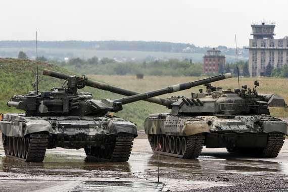 Нові російські танки виявилися переробкою старих машин