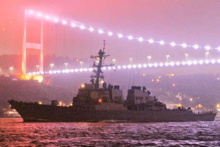 У Чорне море увійшов ракетний есмінець США