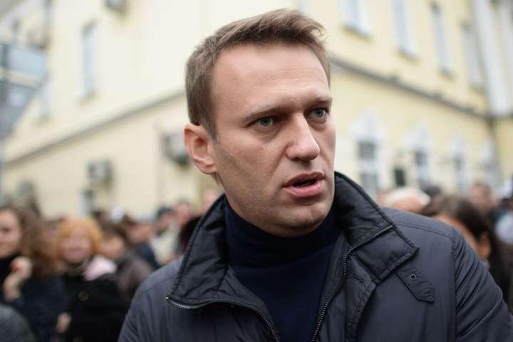 Російського опозиціонера Навального затримали уМоскві