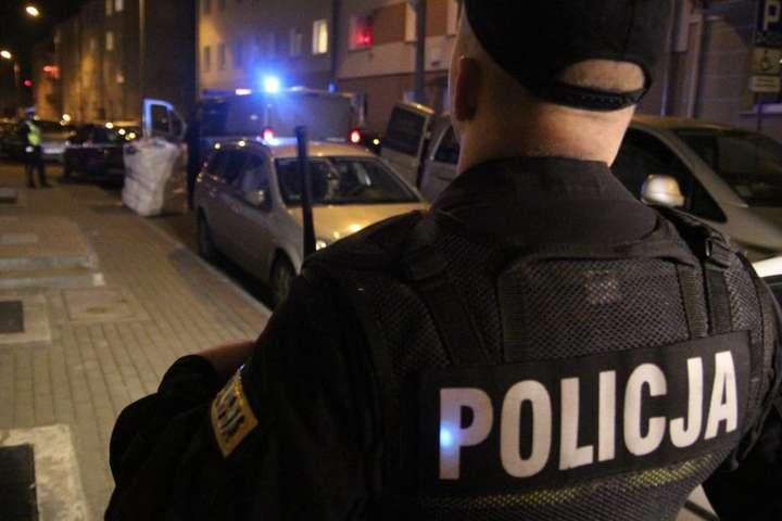 Нетрезвые гастарбайтеры изУкраины иГрузии забросали камнями полицейских вПольше