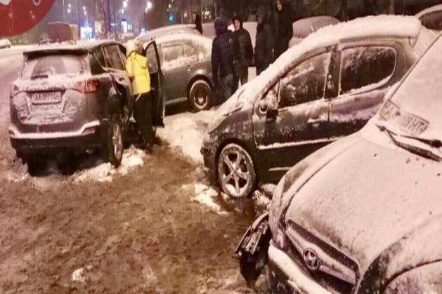 ДТП сталасяна вулиці Лисківській