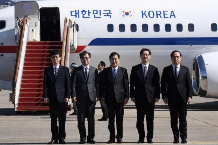 Делегація Республіки Корея вирушила напереговори доКНДР