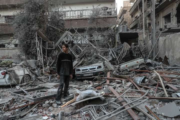 ВООН повідомили про обстріл гуманітарного конвою вСирії