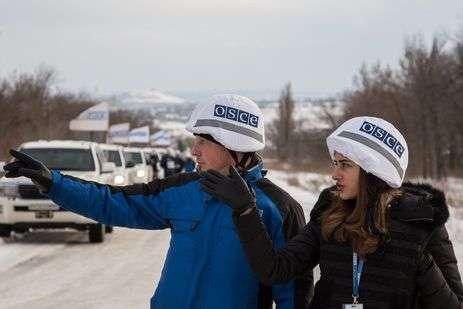 Місія ОБСЄ за добу зафіксувала 41 вибух на Донбасі