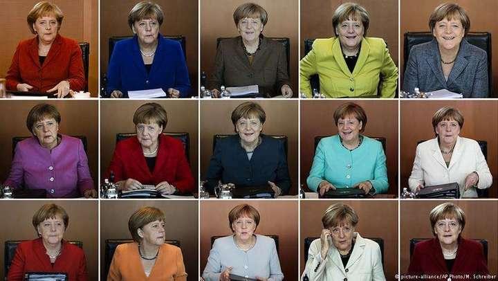Анґела Меркель під час засідань німецького уряду з 2005 по 2018 рік — Анґела Меркель. Життя по-новому