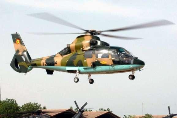 УСенегалі впав військовий гелікоптер