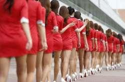 Фото: — Дівчата в КНДР