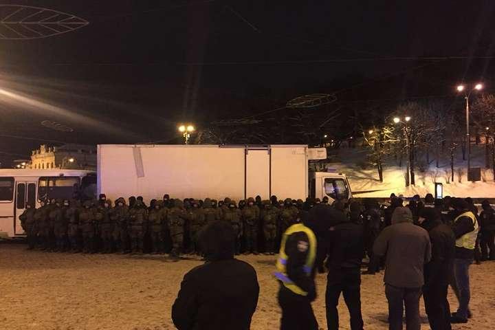 Хом'ячки Саакашвілі звинуватили поліцію у