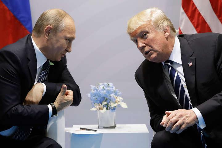 ЗМІ: Трамп хоче провести зустріч зПутіним