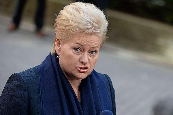 Литва розглядає висилку дипломатівРФ через отруєння Скрипаля,— Грибаускайте