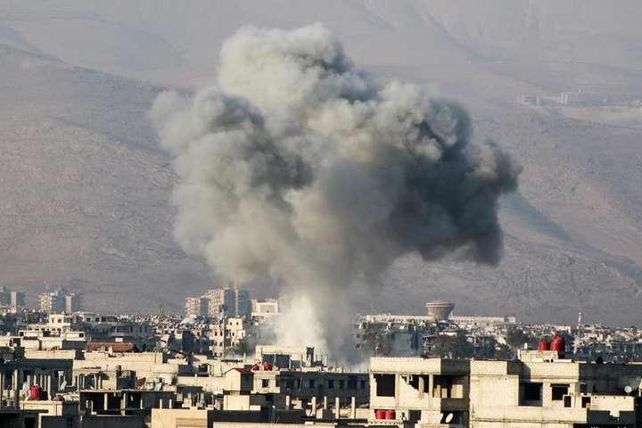 Сирійські повстанці здали місто уСхідній Гуті