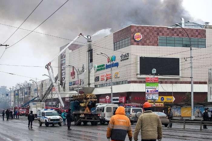 УСлідкомі РФуточнили дані про загиблих урезультаті пожежі вКемерово