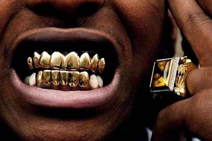 смешные картинки про золотые зубы ведь
