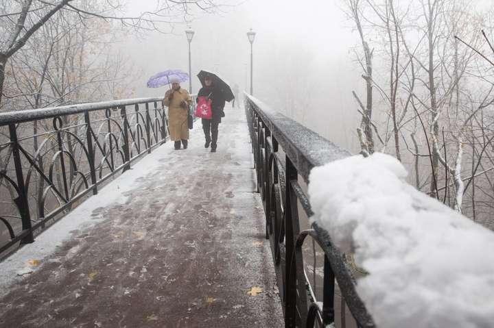 28 березня вУкраїні очікують надощ із мокрим снігом— Гідрометцентр